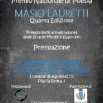 """Aprilia, domani la premiazione del concorso di poesia """"Masio Lauretti"""""""