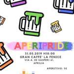 Questo venerdì ad Aprilia l'AperiPride.