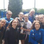 Argento per le ragazze della Gramsci ai campionati regionali di rugby.
