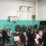 I musicisti della Gramsci al Festival delle orchestre pontine.
