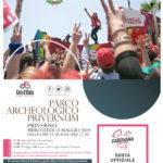 La carovana del Giro d'Italia a Priverno.