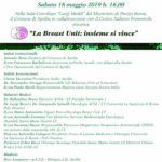 """""""La Breast Unit: insieme si vince"""". Questo sabato alle 16 in Aula Consiliare."""