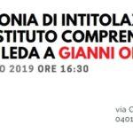 Cerimonia intitolazione a Gianni Orszini dell'I.C. Zona Leda.