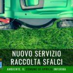 Aprilia, nuovo servizio per la raccolta degli sfalci dei giardini domestici.