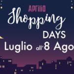 """""""Shopping Days"""" dal 6 luglio all'8 agosto: il programma completo."""