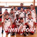 L'Under 14 della Virtus Basket Aprilia alle finali regionali.