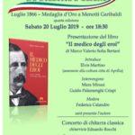 """""""Il medico degli Eroi"""": presentazione del libro presso la tenuta Ravizza Garibaldi."""