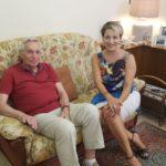 RAI 1 ad Aprilia per i 60 anni di matrimonio di Adele e Pasqualino.