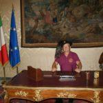 I Bersaglieri di Aprilia in visita presso il Palazzo del Quirinale.