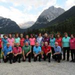 I Liberi Cantores di Aprilia hanno tenuto dei concerti sulle Dolomiti.