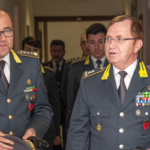 Visita del comandante Michele Carbone alla sezione operativa navale di Gaeta.