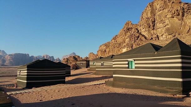 campo beduino del wadi rum