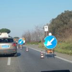 Rallentamenti tra via Apriliana e via Fossignano in direzione Aprilia.