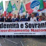 La Destra Sociale di Aprilia presente sabato in Piazza San Giovanni.