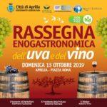 Domenica 13 ottobre la rassegna dell'uva e del vino 2019.