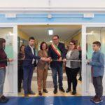 Aprilia, inaugurata questa mattina la nuova palestra dell'I.C. Garibaldi.