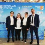 Gloria Mastrocicco di Aprilia presente nel Parlamento dei Giovani del Mediterraneo.