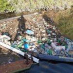 La Diga Green su Tevere: in un mese rimossi dal fiume 500 kg di plastica.
