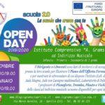 Open Day dell'I.C. Gramsci, appuntamento il 10 Dicembre.