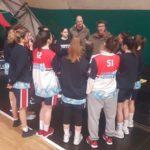 Le ragazze della Virtus Basket espugnano il campo del Basket Roma.