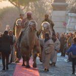 Cori, domenica l'arrivo dei Re Magi a bordo di veri cammelli.