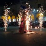 Il rogo della Befana conclude le festività apriliane.