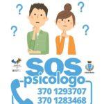 Arriva #SOSPsicologo, lo sportello per lo stress al tempo del Covid-19.