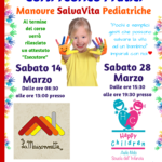 La Croce Rossa di Aprilia organizza due corsi sulle Manovre Salvavita Pedtriache.