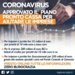 Regione Lazio: approvato il piano per aiutare le imprese e i liberi professionisti.