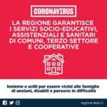 Regione Lazio: approvato il protocollo sui servizi educativi, sociali e socio-sanitari.