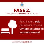 """Aprilia, il monito del Sindaco Terra: """"Fase 2 non significa affatto pericolo scampato""""."""