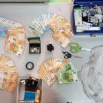 Latina, 53enne trovato con droga e quasi 11mila euro: in manette.