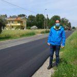 Il Consigliere Vulcano esprime soddisfazione per i lavori della Provincia sul manto stradale.