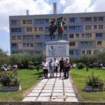 Aprilia: nuova pavimentazione per il monumento ai Bersaglieri.