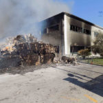 Incendio Loas definitivamente spento: attesa per i risultati della analisi.