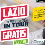 Da sabato 1 agosto torna Lazio in tour.