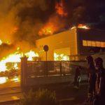 ARPA Lazio, incendio Loas: ultimi aggiornamenti sulla qualità dell'aria.