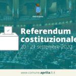 Aprilia: Ufficio Elettorale aperto tutta la settimana per il Referendum.