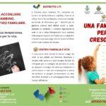"""Aprilia: progetto """"Una famiglia in cui crescere""""."""