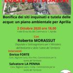 """""""Loas ed altri disastri"""": rinviata l'iniziativa del PD di Aprilia."""