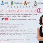 Giornata contro la violenza sulle donne: evento il 25 novembre.