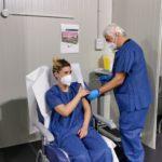 V-day, il vaccino anti-Covid sbarca all'Ospedale Goretti di Latina.