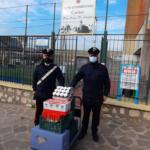 Formia: i carabinieri locali donano alimenti alla caritas.