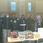L'Aprilia Rugby ha tenuto una colletta alimentare a favore della Caritas della parrocchia Spirito Santo di Aprilia.