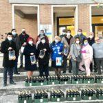 Aprilia, il Rotary Club e Arte Mediterranea donano 150 litri di olio alla comunità.