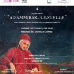 """""""Ad Ammirar… le stelle"""": i fratelli Latilla tornano ad omaggiare Dante sulla terrazza del Castello."""