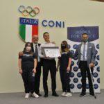 """La Palestra Selciatella vince il Premio Internazionale """"Sport no War""""."""