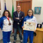 Due bronzi al mondiale di karate: Terra riceve maestro Angela Dammone Sessa